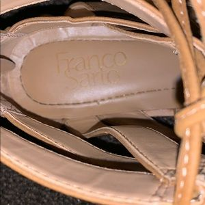 Franco Sarto Shoes - Women's Franco Sarto leather sandals